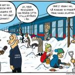 Insnöad järnväg