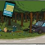 Trafikfarlig arbetssituation
