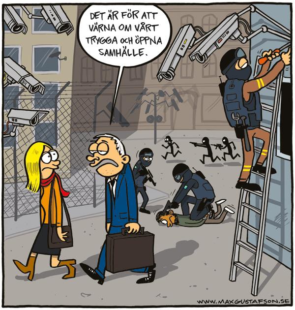 Konsekvenserna av överdriven terroristfixering. Av Max Gustafson.
