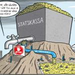 En välfärd som går till dem som mest behöver den. Satir av Max Gustafson.