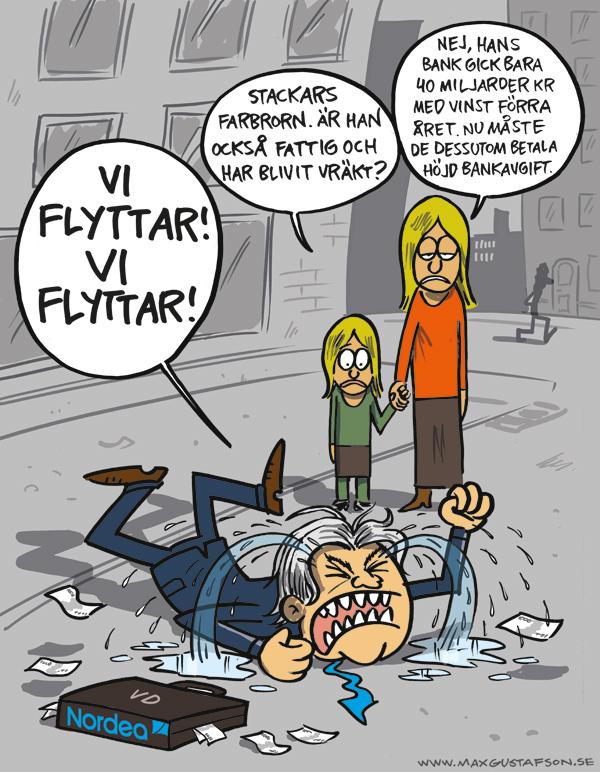 Stackars stackars Nordea ...snyft...