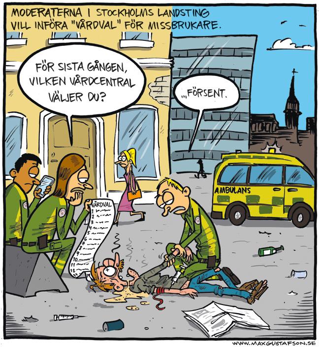 Tvångsvårdval för missbrukare.