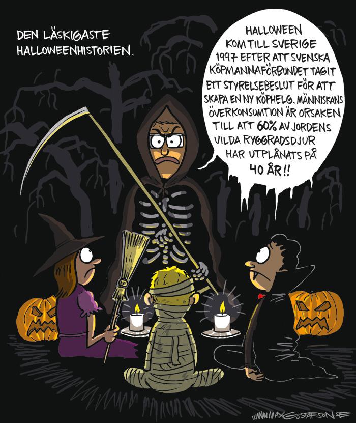 En Halloween-rysare.