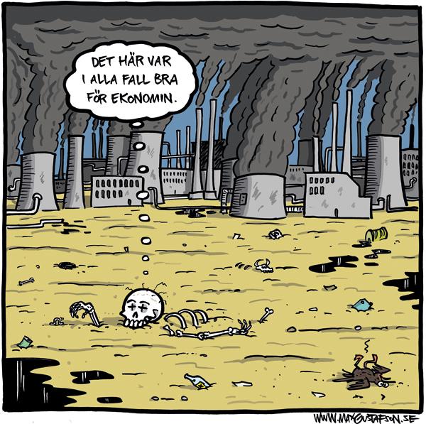 Vi måste sluta bry oss om  ekosystemen, annars kollapsar  våra monetära system.