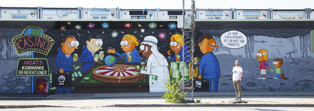 Streetart - Max Gustafson